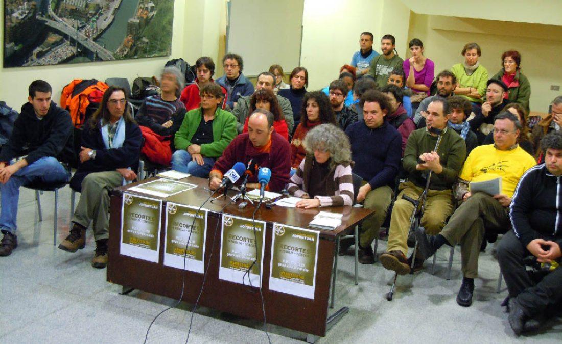 Bilbao, 25 de febrero : Manifestación unitaria contra los recortes (Nueva convocatoria)
