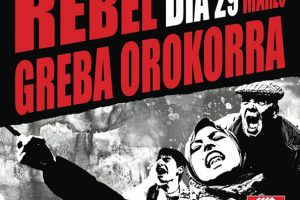 CGT-LKN de Euskadi convoca huelga general el 29 de marzo