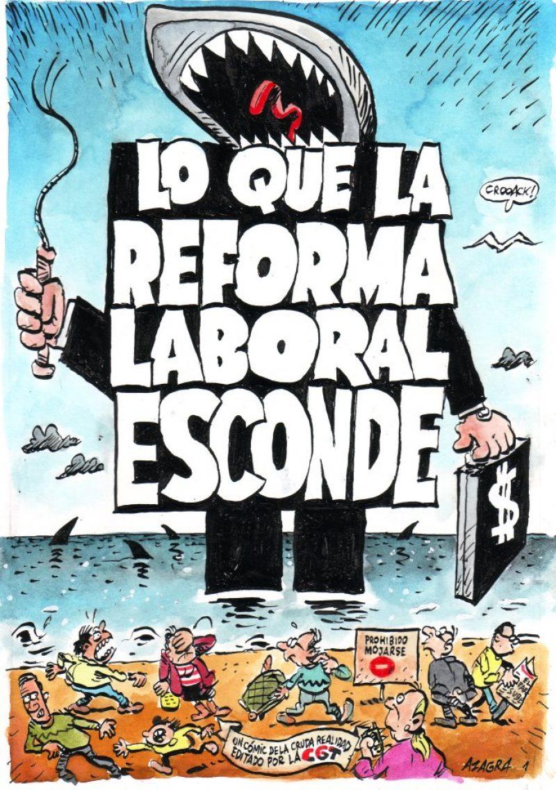 Cómic «Lo que la Reforma esconde» - Imagen-1