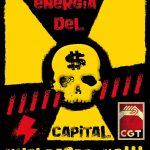 Fukushima, nunca más! Cerremos Garoña, Paremos el ATC. Nucleares, no gracias!