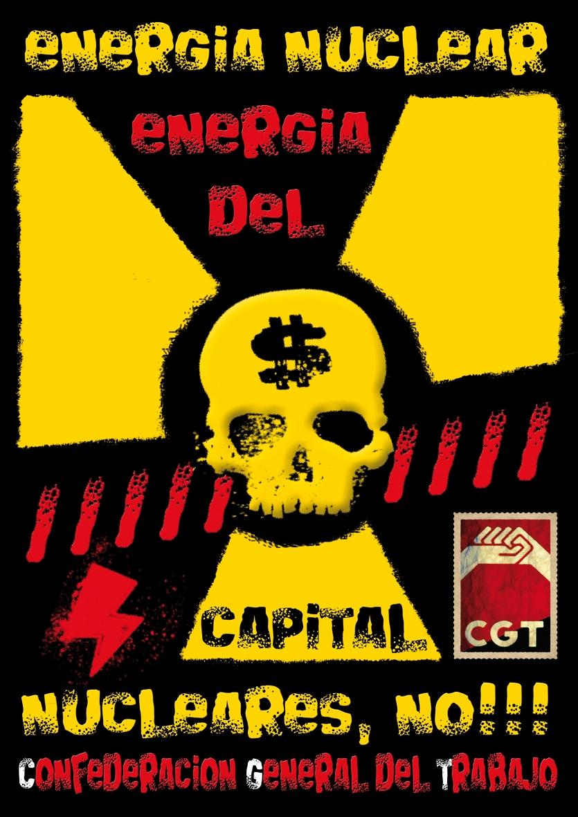 CGT por el cierre de las nucleares