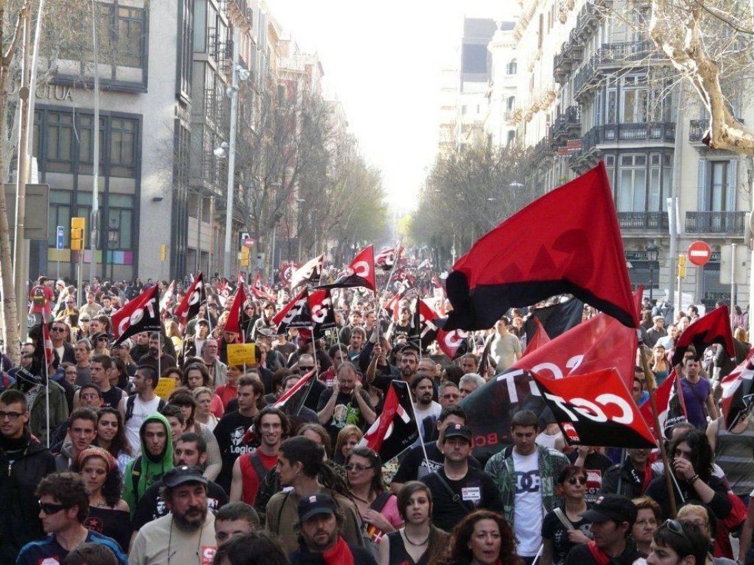 Comunicado de CGT Barcelona ante la detención de la Secretaria de Organización de la federación local
