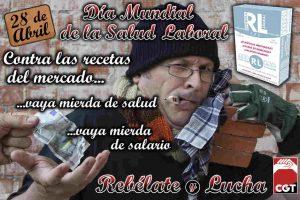 Informe de CGT: Accidentes de trabajo en España 2011
