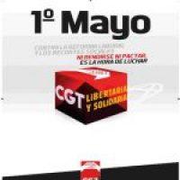 Actos de la CGT 1º de Mayo 2012
