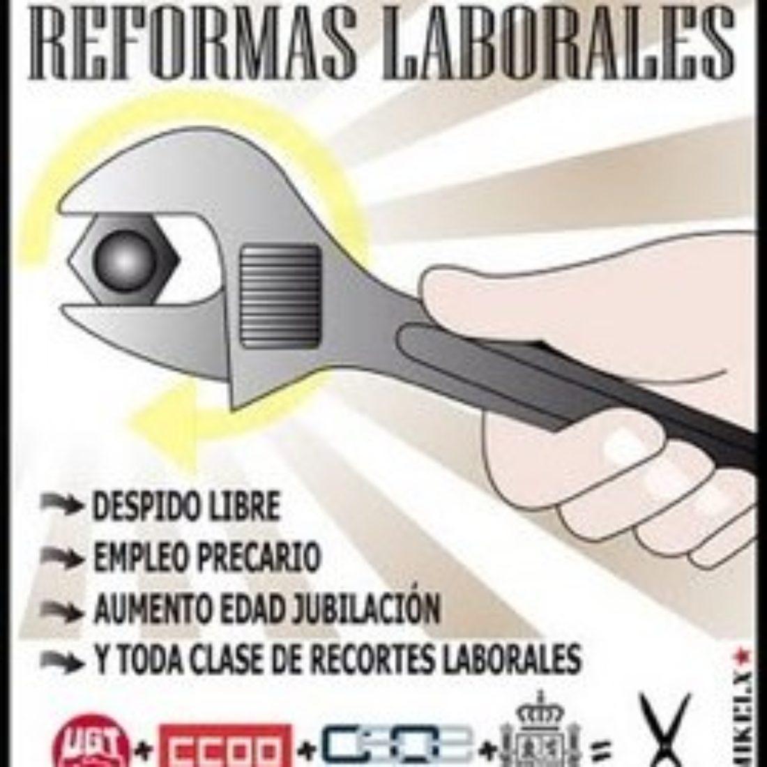 Madrid, 18 de mayo. Curso de formación confederal: La reforma laboral