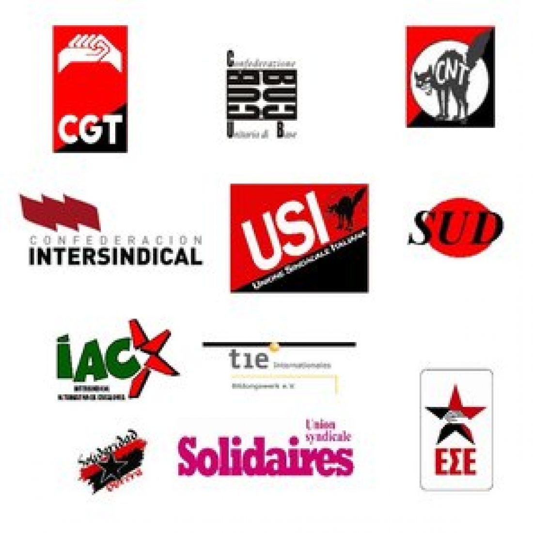 Huelga General 29M: comunicado de la Red Europea del Sindicalismo Alternativo y de Base