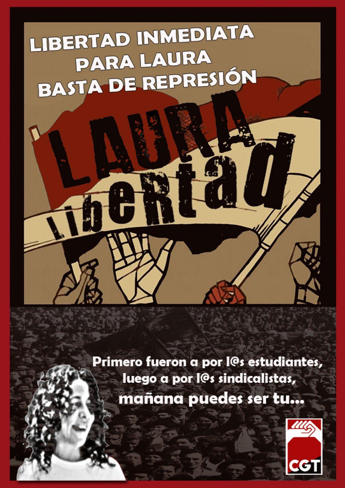 Prisión para la Secretaria de Organización de CGT-Barcelona. Felip Puig aumenta su número de rehenes.