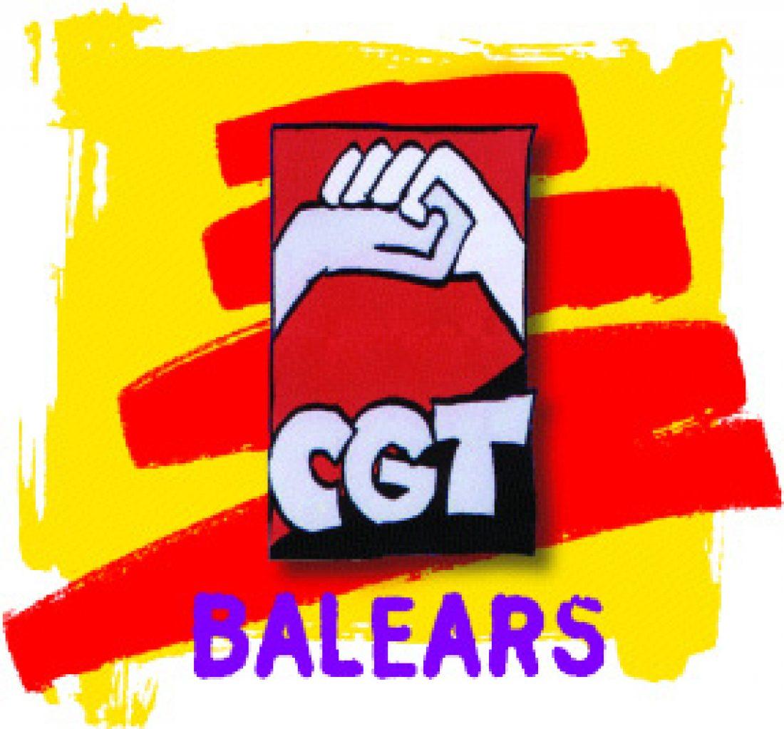 CGT Baleares apoya al grupo de estudiantes que ocuparon ayer la Consejería de Educación