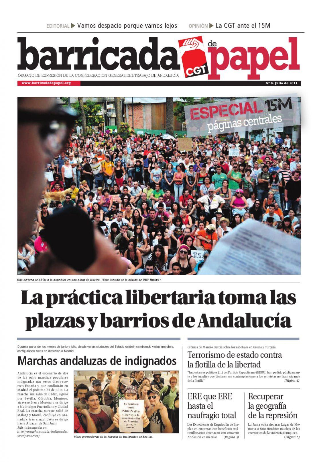 Barricada de Papel núm. 6 – Julio 2011