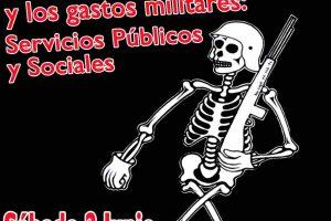 CGT se manifiesta en Valladolid contra el Día de las Fuerzas Armadas