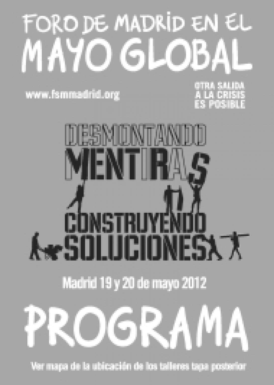 Celebrado el Foro Social de Madrid con la participación de CGT
