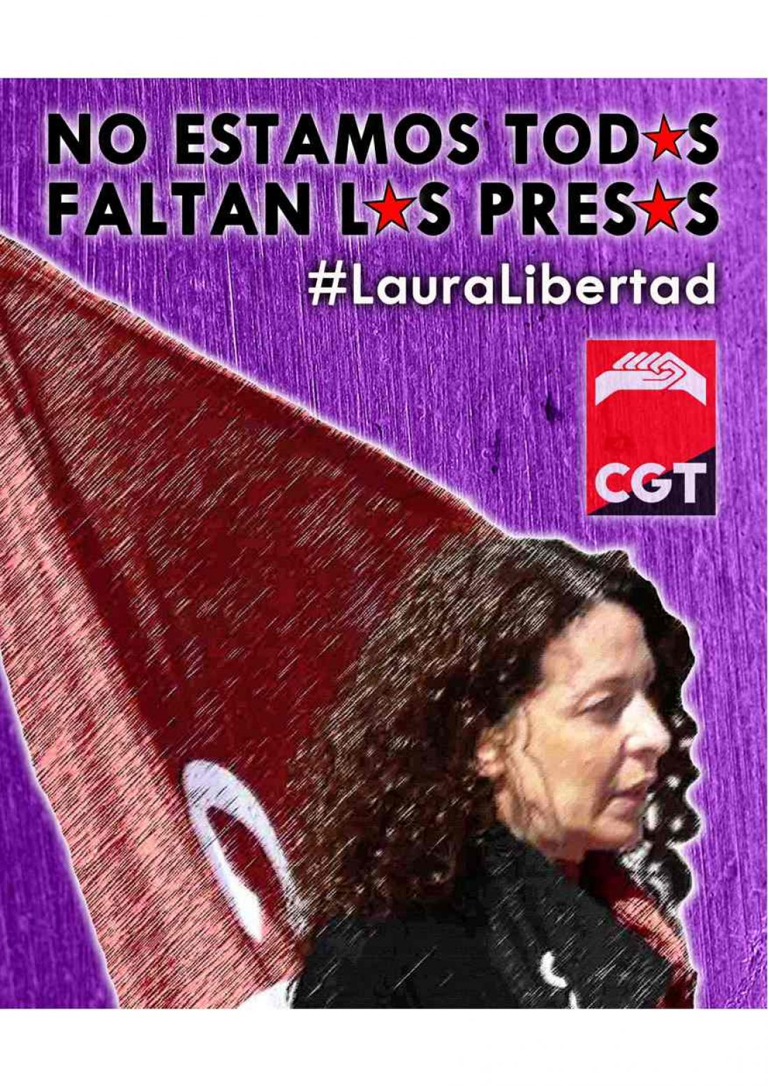 Manifestación en Barcelona el día 17 de mayo por la libertad de Laura