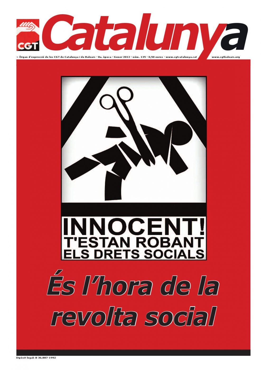 Catalunya núm. 135 – Enero 2012
