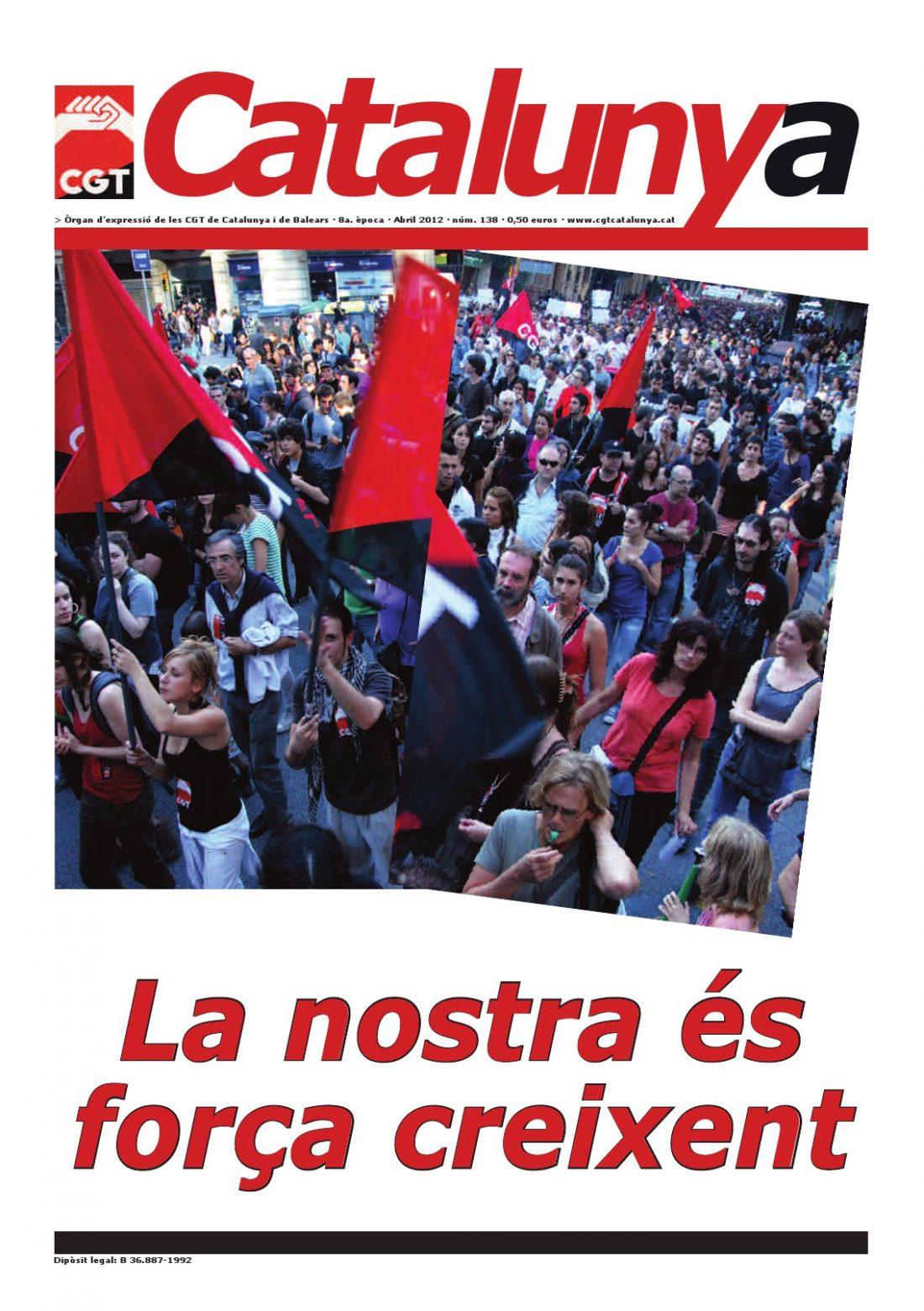 Catalunya núm. 138 – Abril 2012