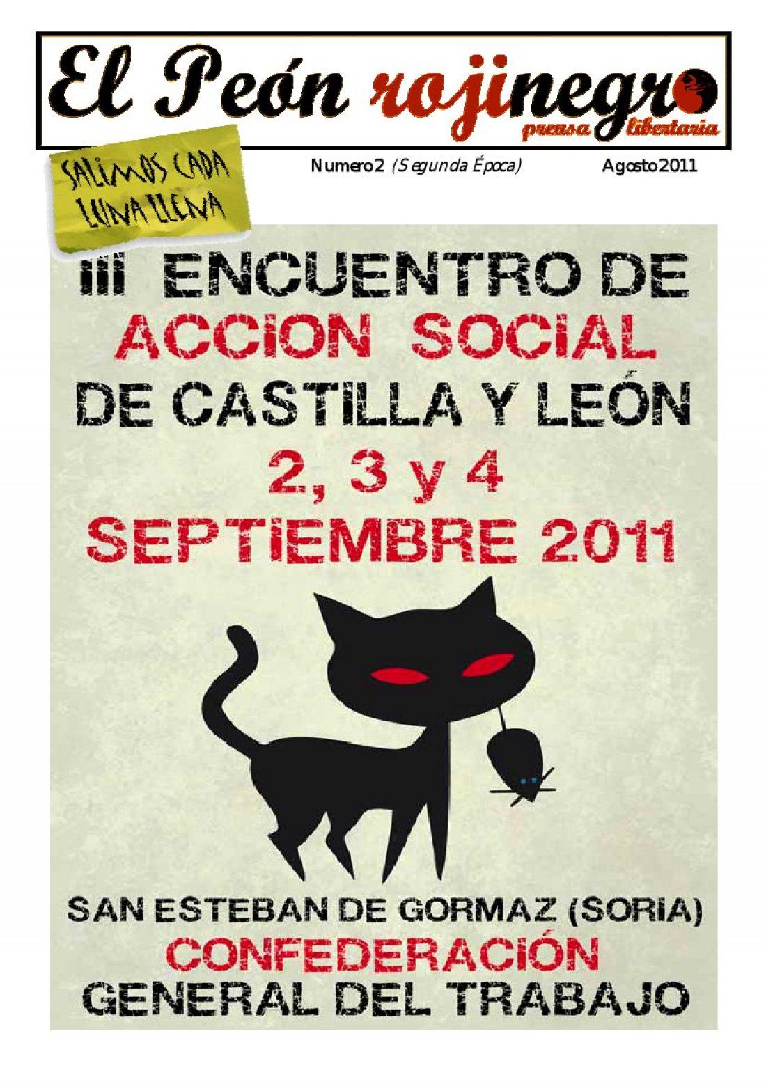 El Peón Rojinegro núm. 2 – Agosto 2011