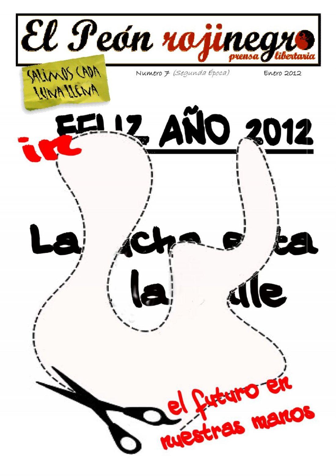 El Peón Rojinegro núm. 7 – Enero 2012