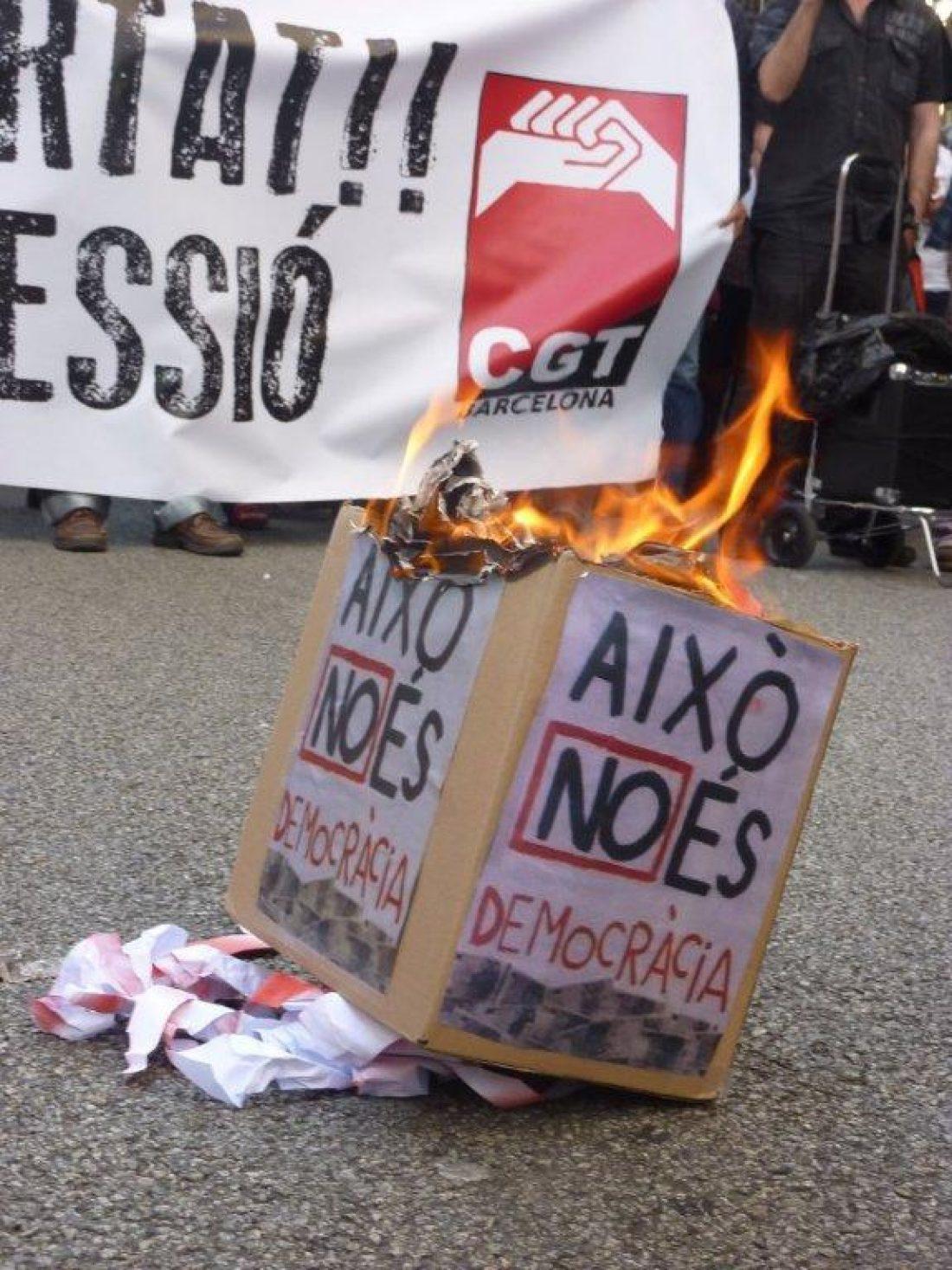La Red Europea del Sindicalismo Alternativo y de Base por la libertad de Laura