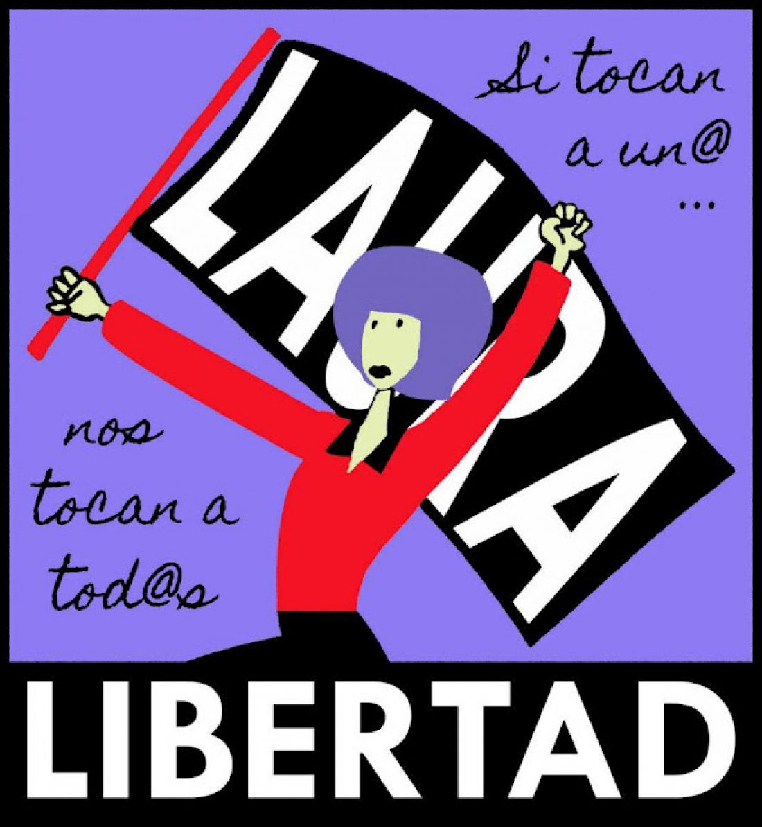 Manifiesto sindical por la libertad de Laura Gómez