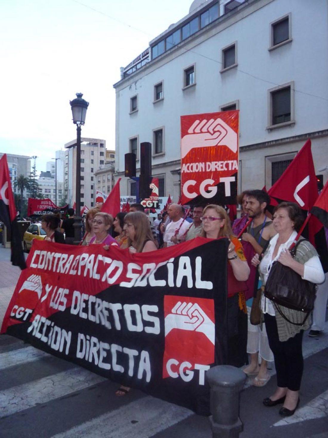 La CGT-PV y Murcia celebra su Pleno Ordinario los días 25 y 26 de mayo en Castellón