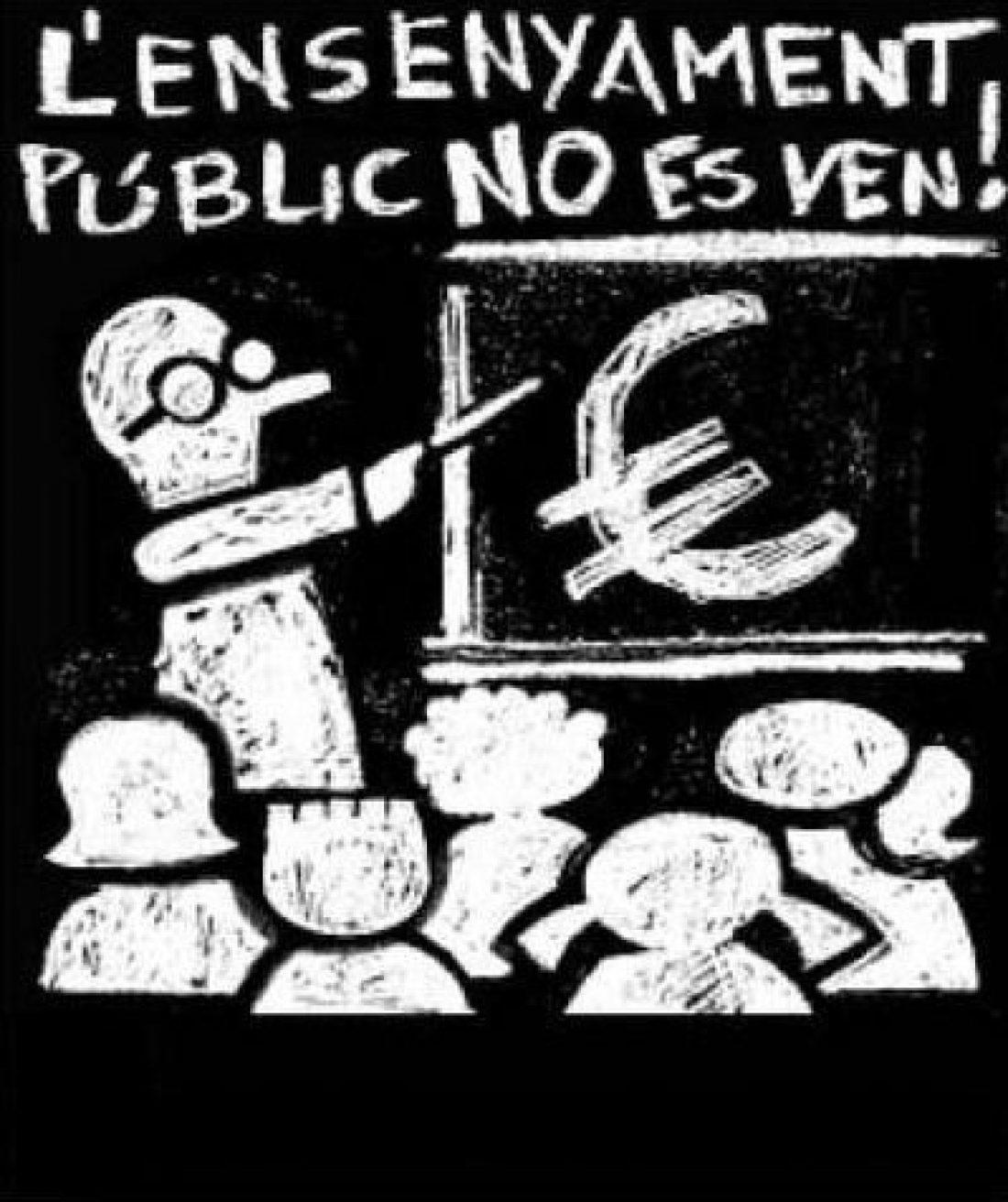 22 de mayo, Huelga en la Enseñanza Pública Catalana