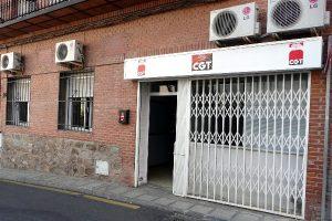 Inauguración del nuevo local del Sindicato de Oficios Varios de CGT de Toledo