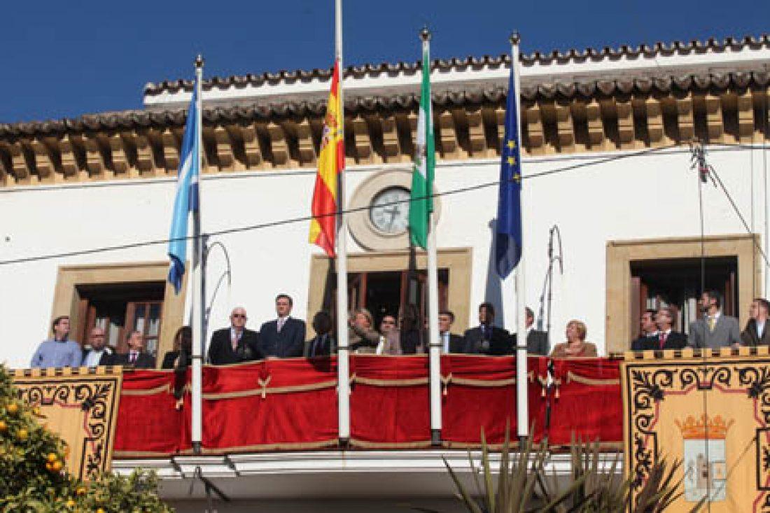 Apoyo de CGT Málaga a l@s trabajador@s del Ayuntamiento de Marbella