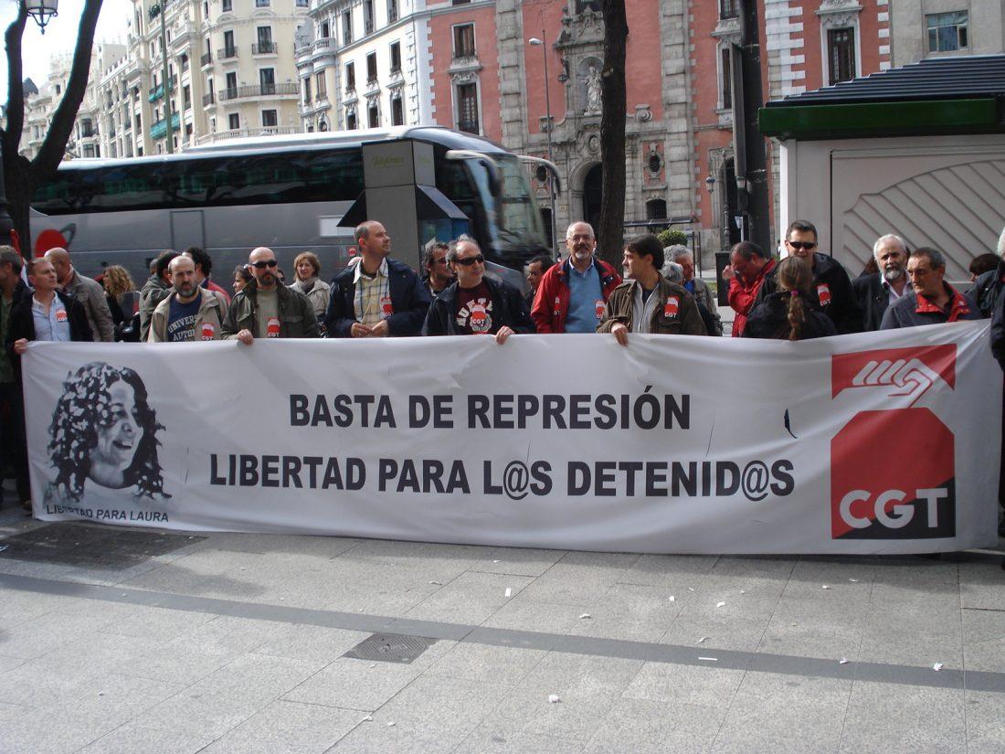 Barcelona 11 de junio. Concentración en apoyo a Eva