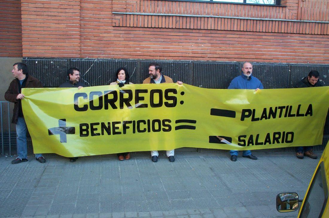 Barcelona. Huelga en correos en el distrito 33 los días 22 y 25 de junio