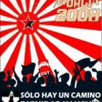 Cartel 1 mayo 2008 CGT (Murcia)