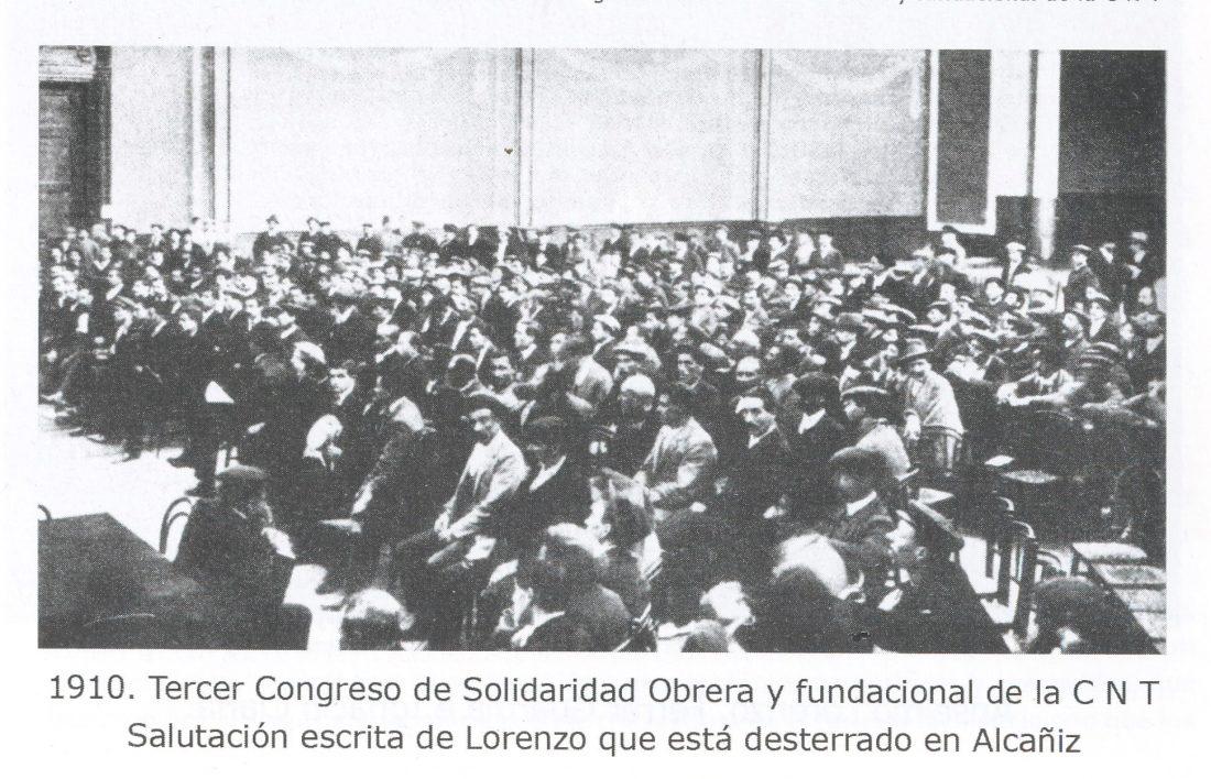 I Congreso de CNT (Barcelona 1910)