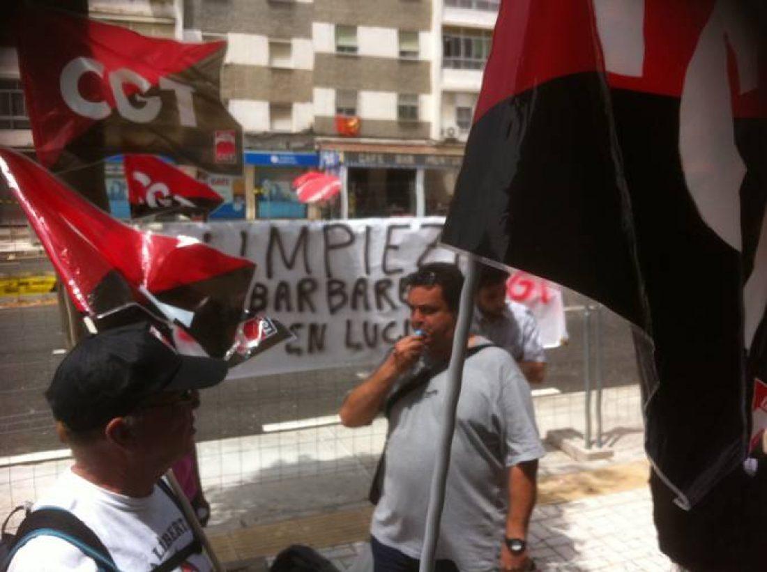 CGT suspende temporalmente la huelga de CLECE en el ambulatorio San José Obrero por vulneración del derecho a huelga