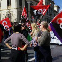 Jaén. CGT llama a participar en la manifestación del 20 J