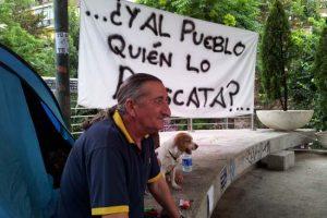 Un compañero del SOV de CGT de Puertollano en huelga de hambre