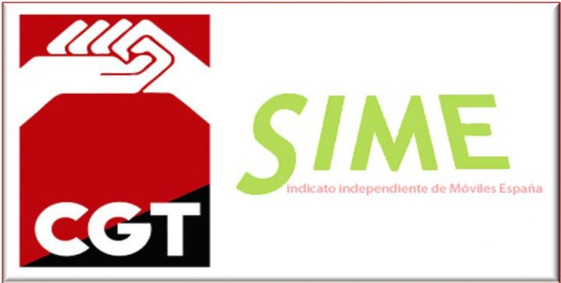 Telefónica Móviles. CGT-SIME gana las elecciones en Madrid, Vizcaya y Las Palmas