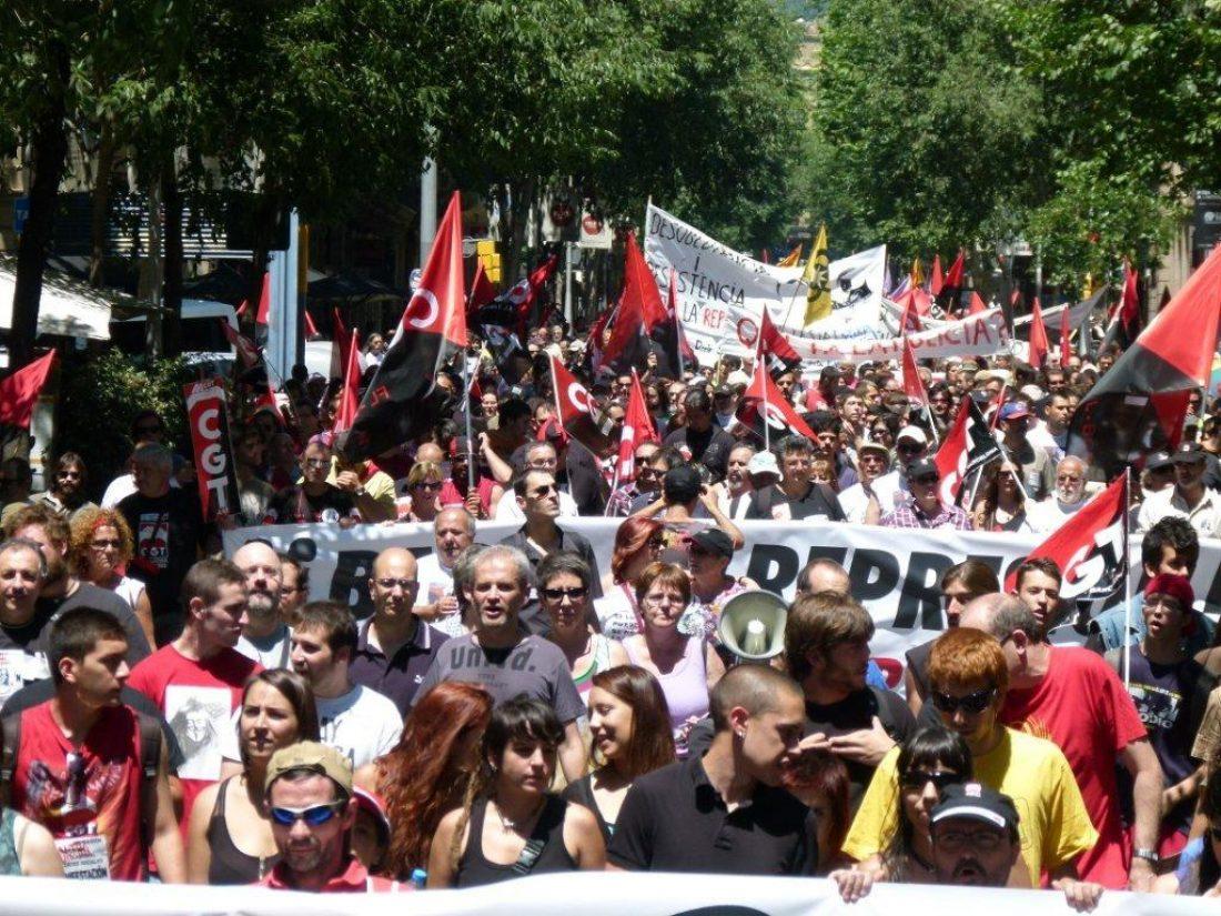 Agradecimientos manifestación 16J Barcelona