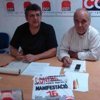 Rueda de prensa: CGT anuncia una Huelga General para otoño 2012