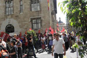 Movilizaciones en Correos frente a los despidos