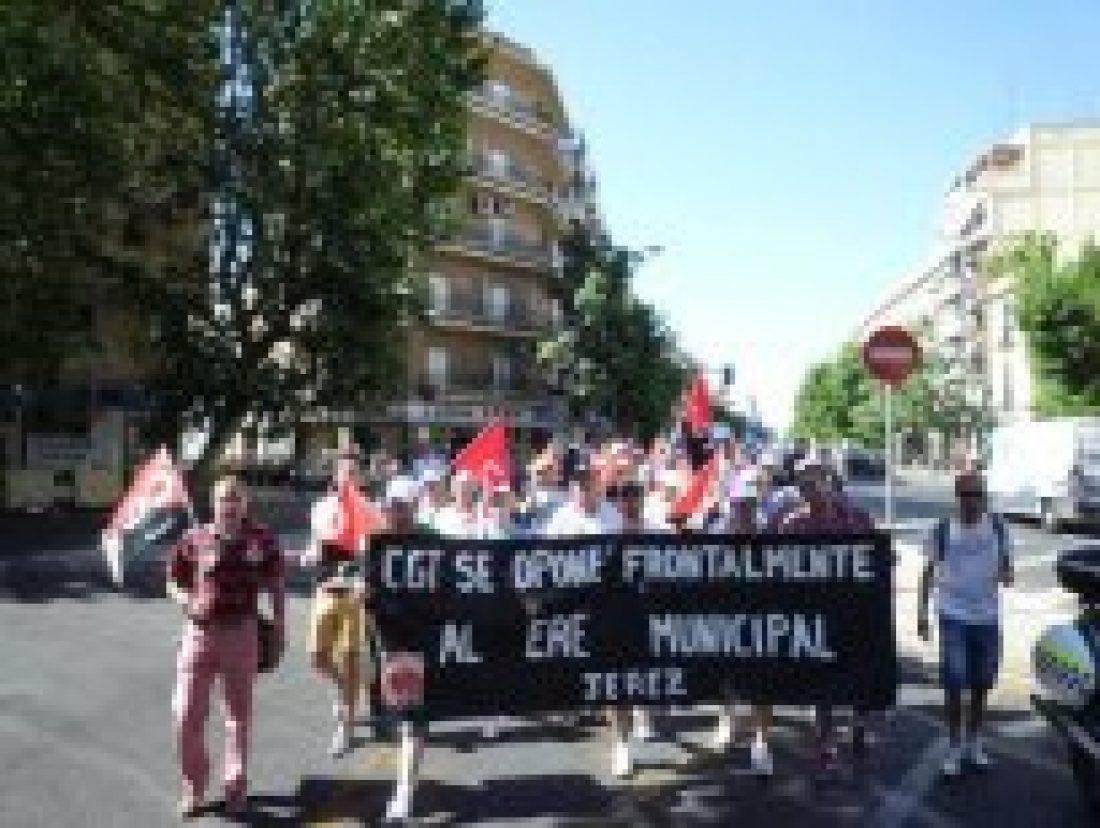 CGT lleva al Parlamento andaluz su rechazo el ERE del Ayuntamiento de Jerez