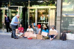 Huelga de Educación en Aragón. Bloque de la CGT