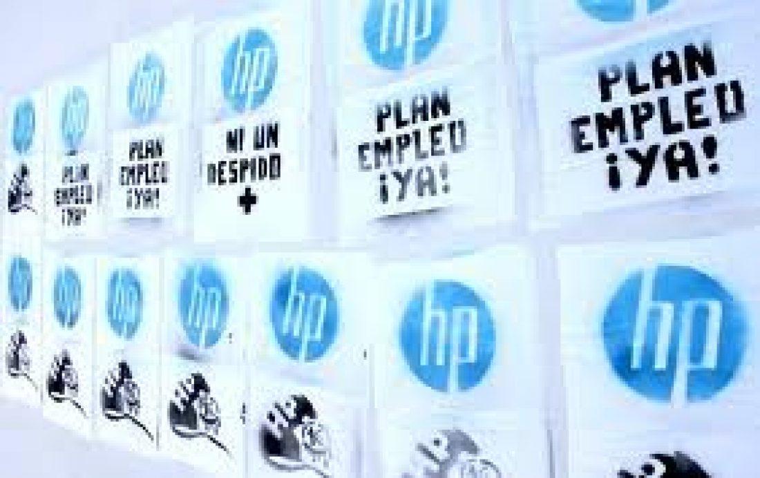La plantilla de HP en todo el estado dice no al preacuedo de la empresa y CCOO. Después del  Referéndum: ¿Y ahora qué?