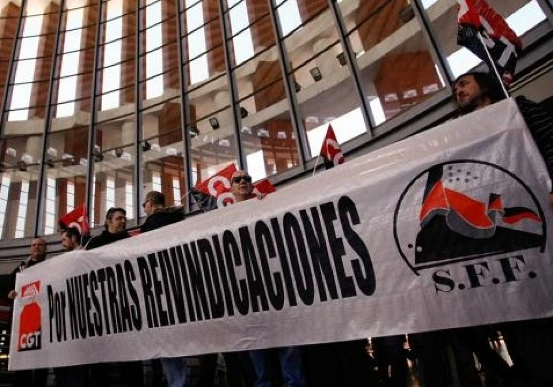Comunicado del SFF CGT : El consejo de ministros privatiza Renfe