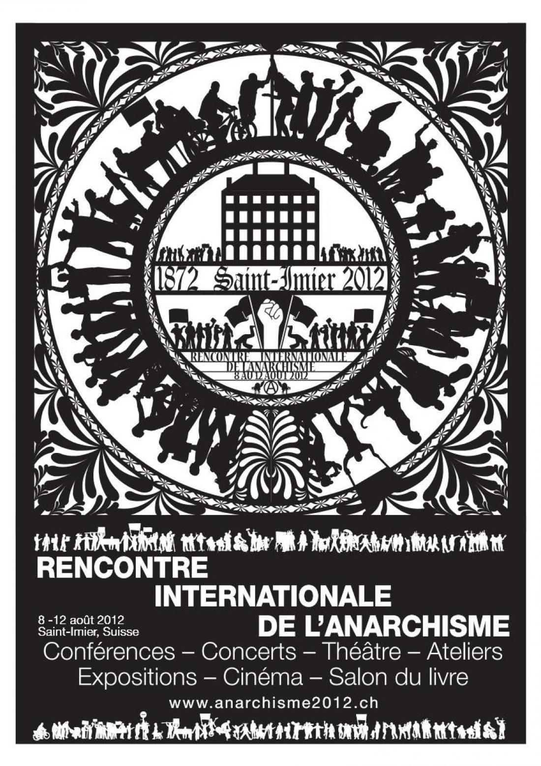 CGT participara en el encuentro libertario mundial en St-Imier (Suiza) del 8 al 12 de agosto de 2012