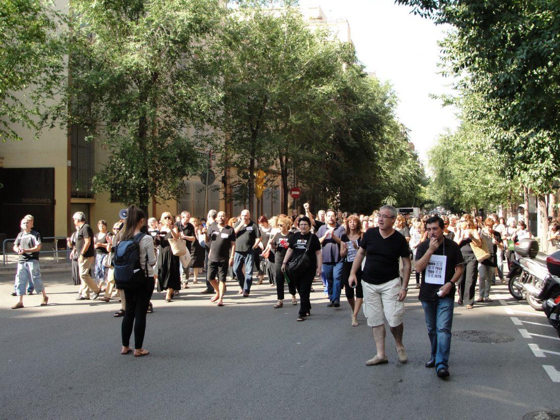 Barcelona. Cortes de tráfico y concentraciones el viernes 24 de agosto en diversos lugares de Barcelona y L'Hospitalet