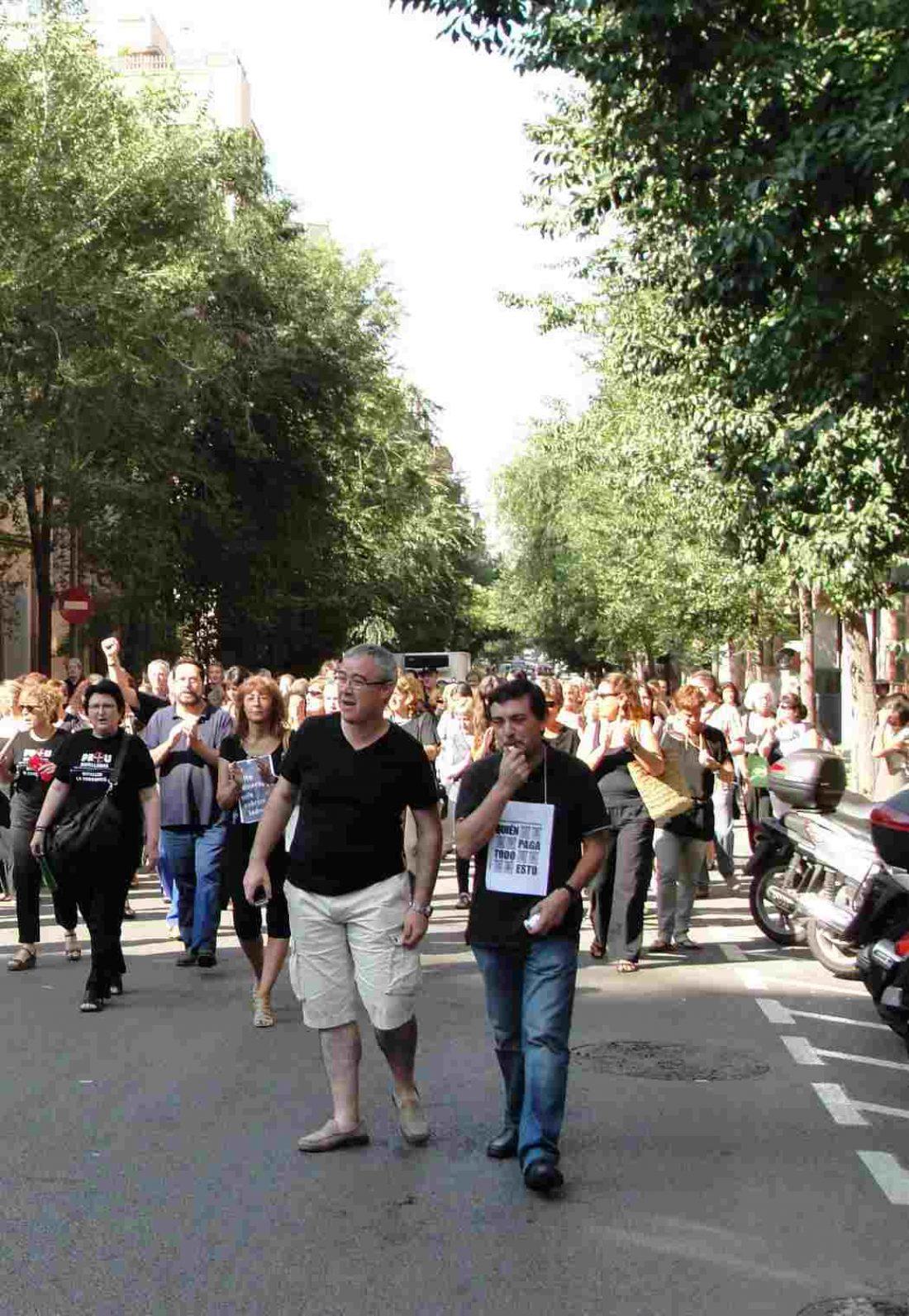 Realizados cortes de tráfico y concentraciones el  viernes 31  agosto en diversos lugares de  Barcelona y l´Hospitalet. Nuevo viernes negro en Barcelona