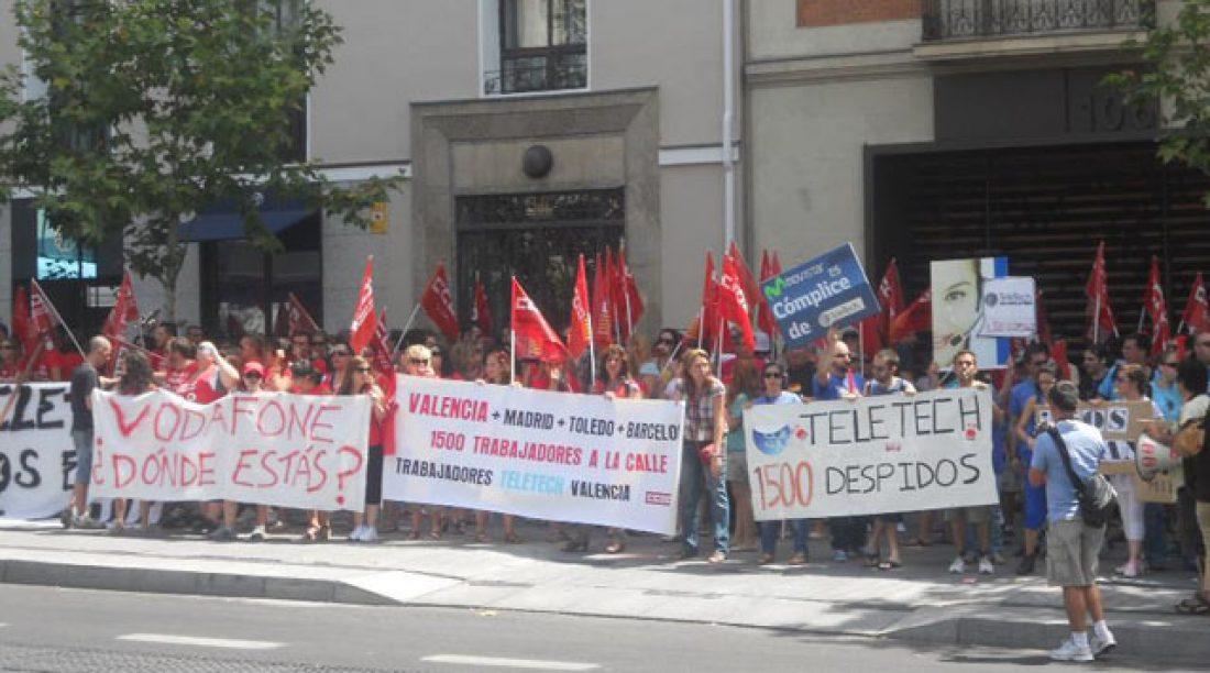 ¡¡ Vergüenza Ajena !! CGT no firma ni avala el cierre de TeleTech en España