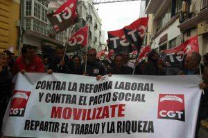 CGT convoca una Huelga General de 24 horas en todo el estado para el 14 de noviembre 2012