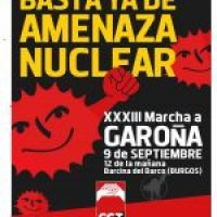 Barcina del Barco. 9 Septiembre  marcha a Garoña 2012