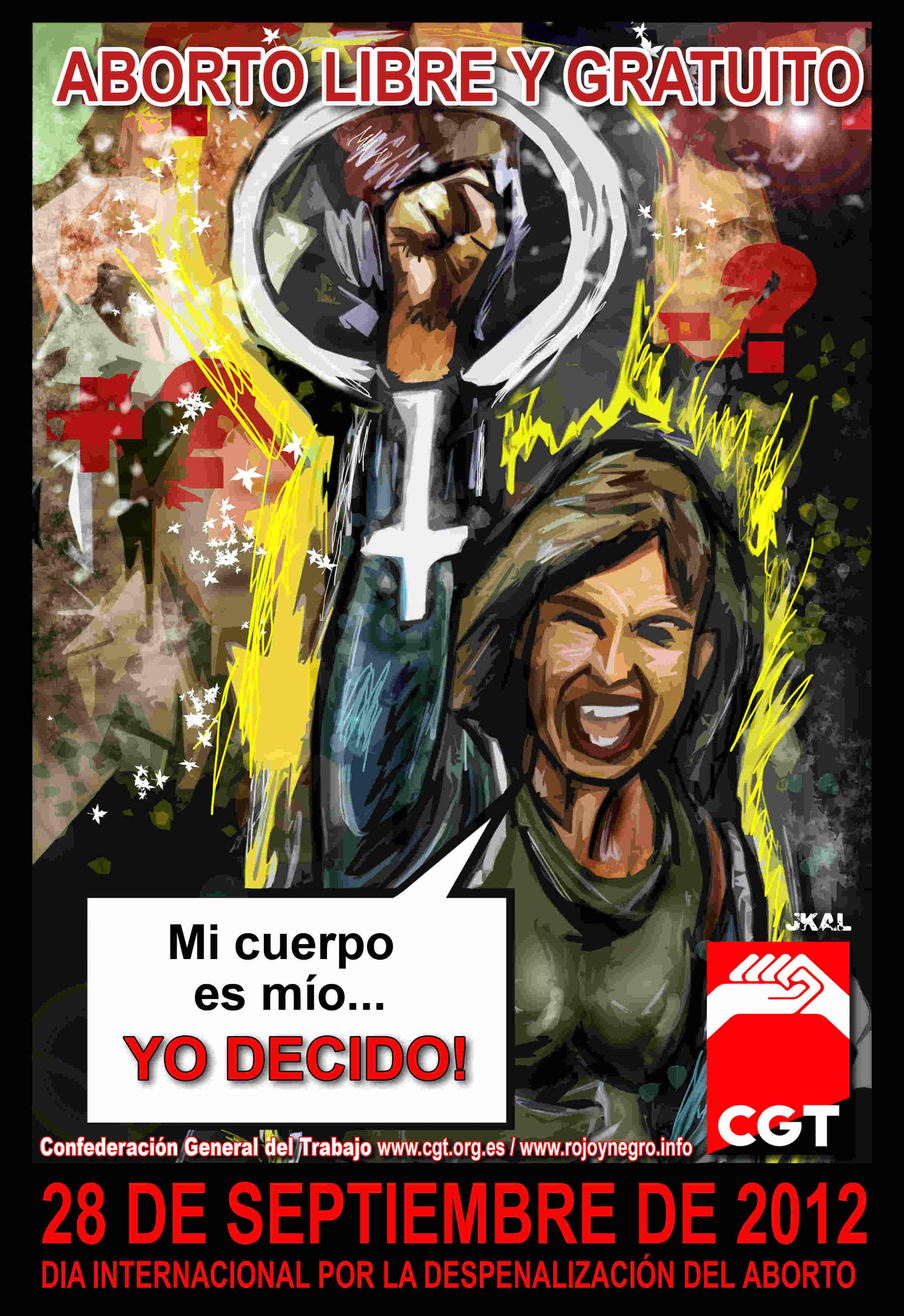 28 de septiembre Día por la despenalización del aborto