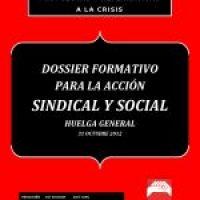 Dossier formativo para la Acción Sindical y Social  de cara a la Huelga General del 31 de octubre