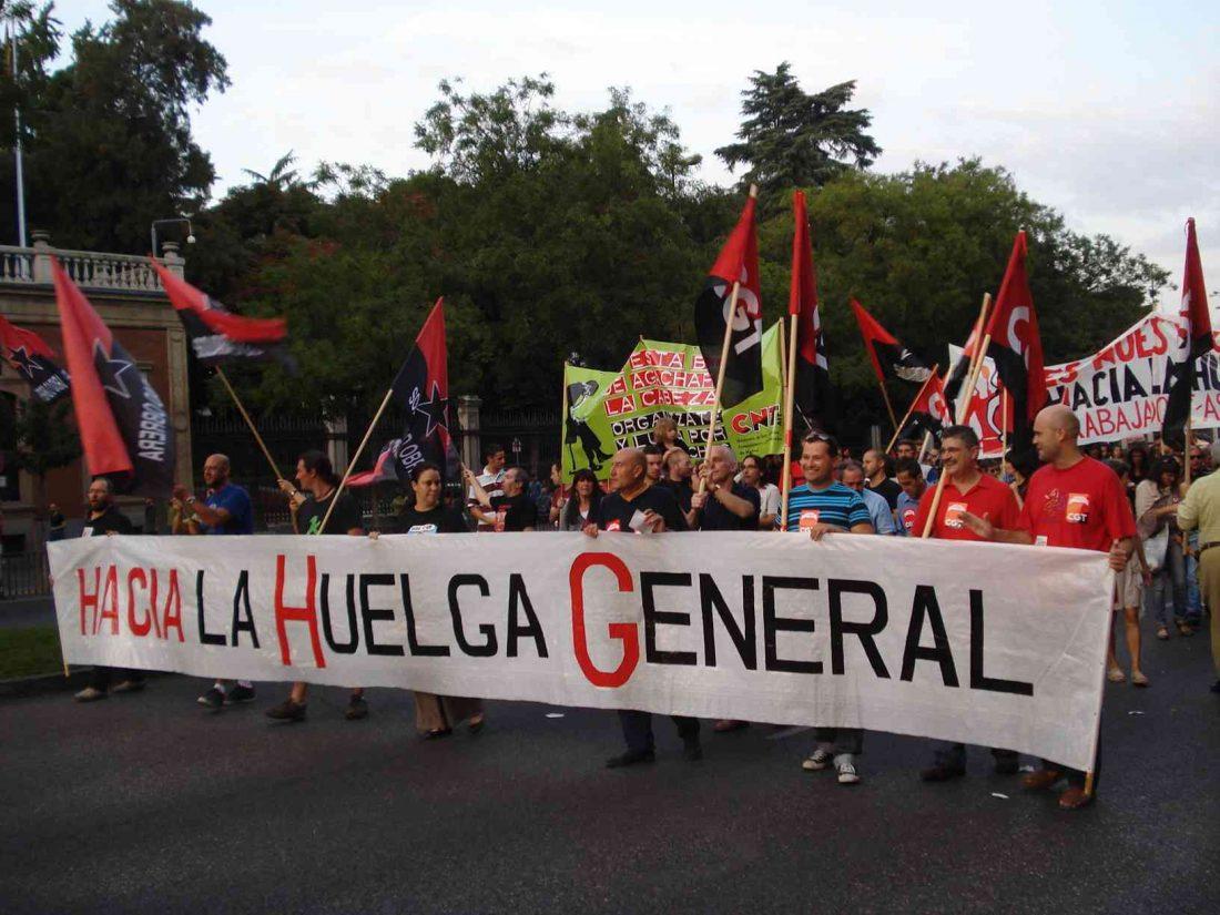 Manifestación estatal el 15-S en Madrid